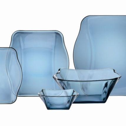 Tô thủy tinh Nettuno Blue 15 màu xanh (Bormioli Rocco) - 2