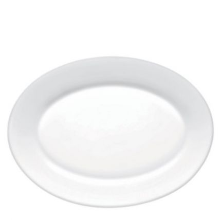 Đĩa thủy tinh oval Toledo 36 (Bormioli Rocco) - 1