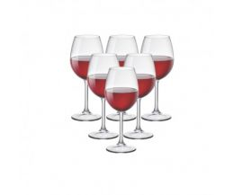 Bộ 6 ly rượu thủy tinh cao cấp Riserva Cabernet 37cl (Bormioli Rocco)