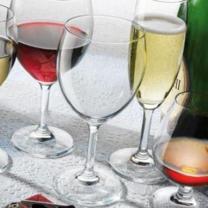 Ly rượu thủy tinh Globo Globlet 41cl (Bormioli Rocco) - 1