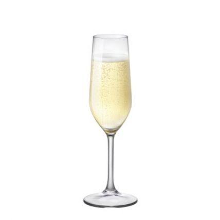 Ly rượu thủy tinh cao cấp Riserva Flute 21cl (Bormioli Rocco) - 1