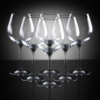 Ly rượu thủy tinh cao cấp Premium 6 - 60cl (Bormioli Rocco) - 1