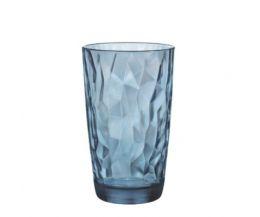 Ly thủy tinh Diamond 47cl - xanh biển (Bormioli Rocco)
