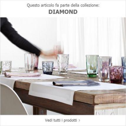 Ly thủy tinh Diamond 30cl - tím (Bormioli Rocco) - 1