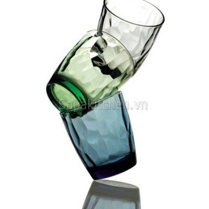 Ly thủy tinh Diamond 30cl - xanh lá (Bormioli Rocco) - 3