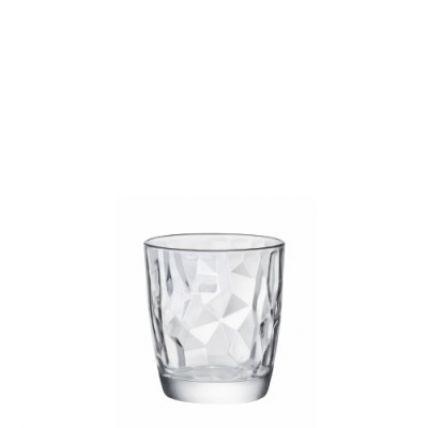 Ly thủy tinh Diamond 30cl - trắng (Bormioli Rocco) - 1