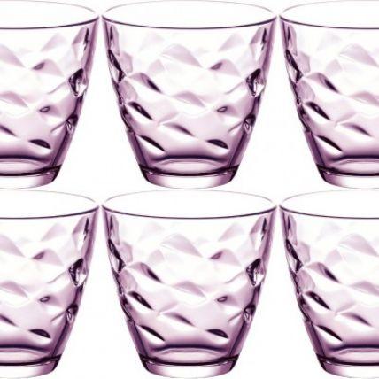 Ly thủy tinh Flora 26cl - tím (Bormioli Rocco) - 2