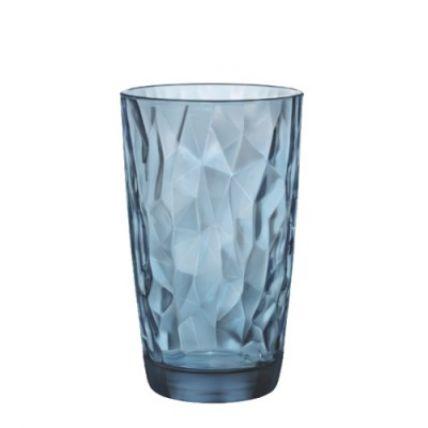 Ly thủy tinh Diamond 47cl - xanh biển (Bormioli Rocco) - 4