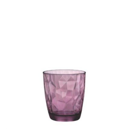 Ly thủy tinh Diamond 30cl - tím (Bormioli Rocco) - 3