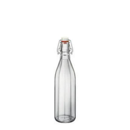 Chai thủy tinh nắp cài Oxford 0.5L (Bormioli Rocco) - 1