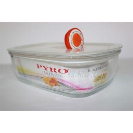 Bộ 3 hộp thuỷ tinh Pyro 400ml kèm túi giữ nhiệt - 4