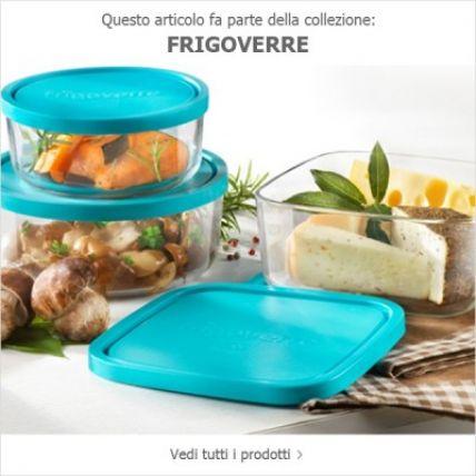 Hộp thuỷ tinh vuông Frigoverre 19 - 1600ml (Bormioli Rocco) - 4