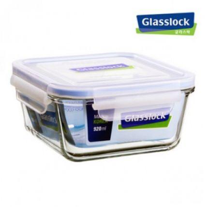 Combo 2 hộp thuỷ tinh Glasslock vuông 920ml  - 4