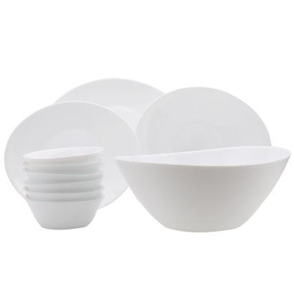 Bộ chén đĩa thủy tinh Prometeo 10 món (Bormioli Rocco) - 1