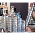 Ly thủy tinh chịu nhiệt Rock Bar 27cl - hồng đào (Bormioli Rocco) - small 2