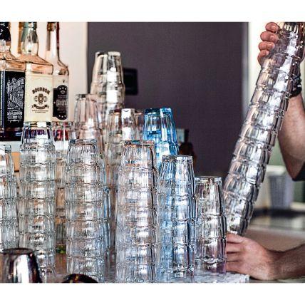 Ly thủy tinh chịu nhiệt Rock Bar 27cl - xanh bạc hà (Bormioli Rocco) - 2