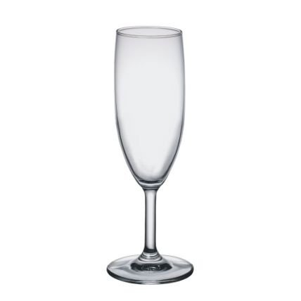 Ly rượu thủy tinh Globo Flute 17cl (Bormioli Rocco) - 1
