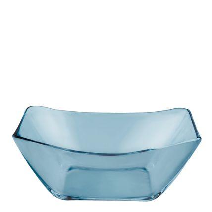 Tô thủy tinh Nettuno Blue 23 màu xanh (Bormioli Rocco) - 1