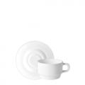 Tách đĩa trà thủy tinh Performa 13cl (Bormioli Rocco) - small 1