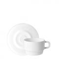 Tách đĩa trà thủy tinh Performa 22cl (Bormioli Rocco) - small 1