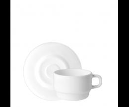 Tách đĩa trà thủy tinh Performa 22cl (Bormioli Rocco)