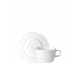 Tách đĩa trà thủy tinh Performa 13cl (Bormioli Rocco)