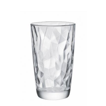 Ly thủy tinh Diamond 47cl - trắng (Bormioli Rocco) - 1