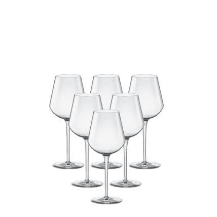 Bộ 6 ly rượu thủy tinh cao cấp Inalto - 38cl (Bormioli Rocco) - 1