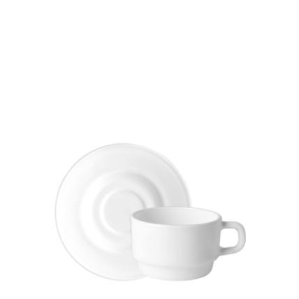 Tách đĩa trà thủy tinh Performa 13cl (Bormioli Rocco) - 1