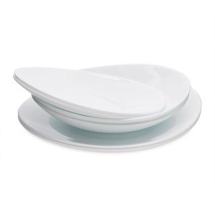 Bộ đĩa thủy tinh Prometeo 6 món (Bormioli Rocco) - 2