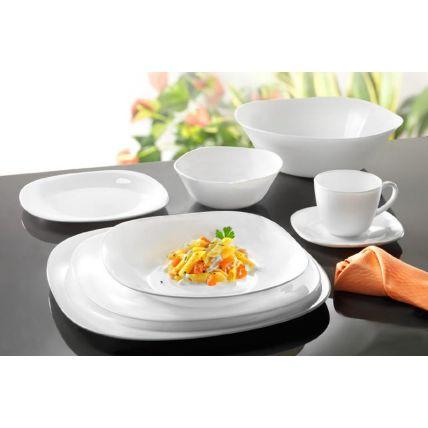 Bộ chén đĩa thủy tinh vuông Parma 10 món (Bormioli Rocco)  - 3