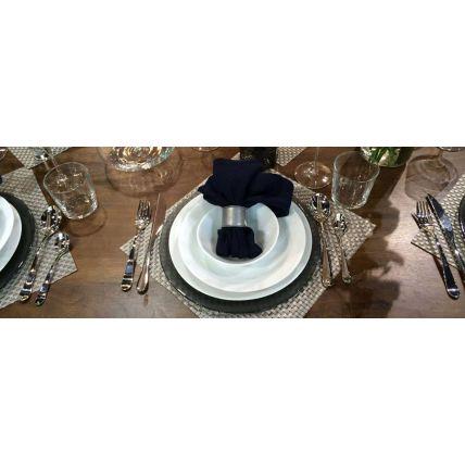 Bộ chén đĩa thủy tinh Ronda 11 món (Bormioli Rocco) - 3