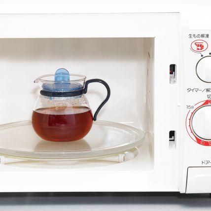 Bình trà thủy tinh Iwaki 400ml - xanh dương - 2