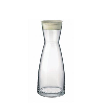 Bình rót rượu thủy tinh Ypsilon 1L  có nắp (Bormioli Rocco) - 1