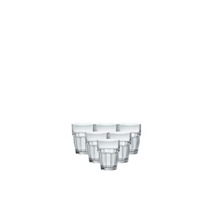 Bộ 6 ly thủy tinh chịu nhiệt Rock Bar 7cl (Bormioli Rocco) - 3