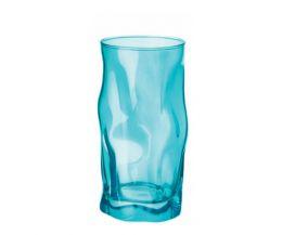 Ly thủy tinh Sorgente 45cl - màu xanh ngọc (Bormioli Rocco)