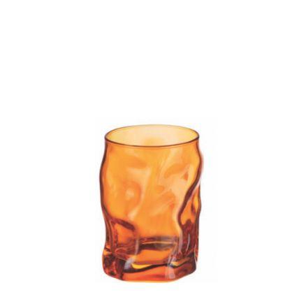 Ly thủy tinh Sorgente 30cl - màu cam (Bormioli Rocco) - 1