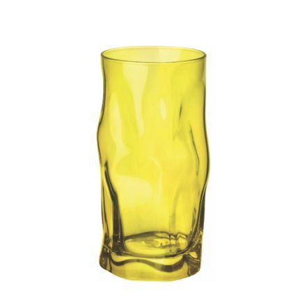 Ly thủy tinh Sorgente 45cl - màu vàng (Bormioli Rocco) - 1