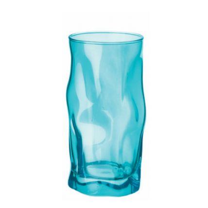 Ly thủy tinh Sorgente 45cl - màu xanh ngọc (Bormioli Rocco) - 1
