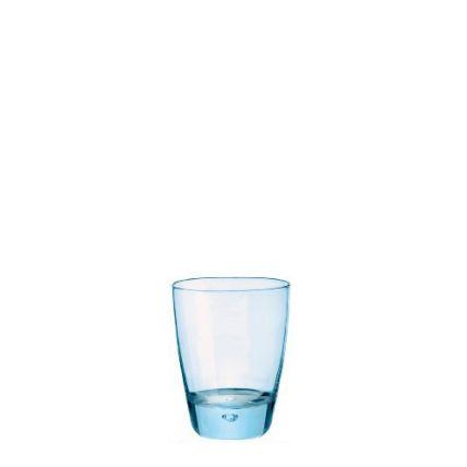 Ly thủy tinh Luna màu xanh 34cl (Bormioli Rocco) - 1