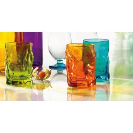 Ly thủy tinh Sorgente 30cl - màu cam (Bormioli Rocco) - 2