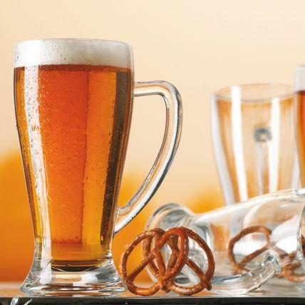 Bộ 6 ly bia thủy tinh Baviera 0.4 - 50cl (Bormioli Rocco) - 6