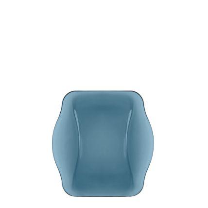Đĩa thủy tinh vuông Nettuno Blue 19 màu xanh (Bormioli Rocco) - 1