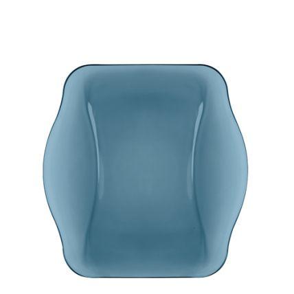 Đĩa thủy tinh vuông Nettuno Blue 28 màu xanh (Bormioli Rocco) - 1