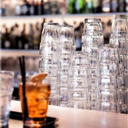 Bộ 6 ly thủy tinh chịu nhiệt Rock Bar 7cl (Bormioli Rocco) - 2
