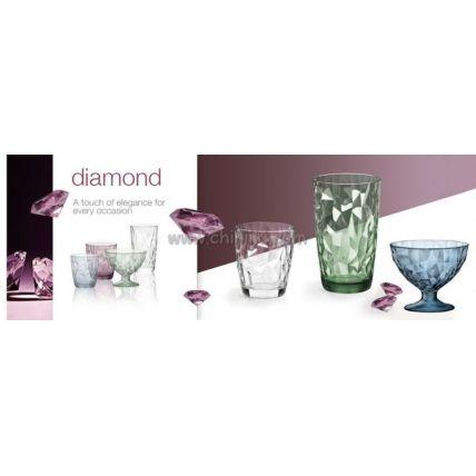 Ly thủy tinh Diamond 47cl - xanh lá (Bormioli Rocco) - 3