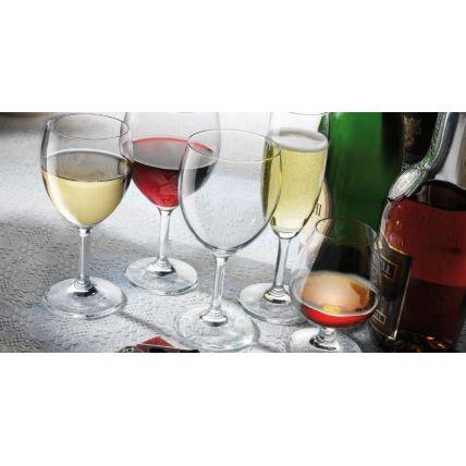 Ly rượu thủy tinh Globo Flute 17cl (Bormioli Rocco) - 2