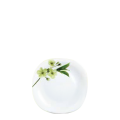 Đĩa thủy tinh vuông 205 Diva Ivory S.D (La Opala) - small 1