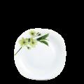 Đĩa thủy tinh vuông 278 Diva Ivory S.D (La Opala) - small 1