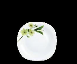Đĩa thủy tinh vuông 278 Diva Ivory S.D (La Opala)